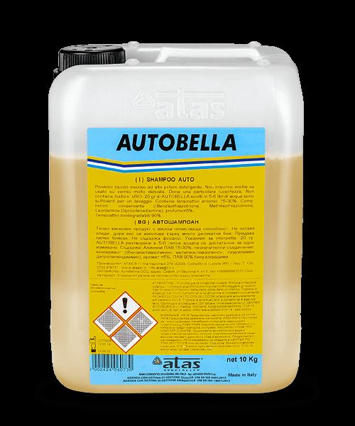 Автошампоан AUTOBELLA за ръчно измиване 10 kg.