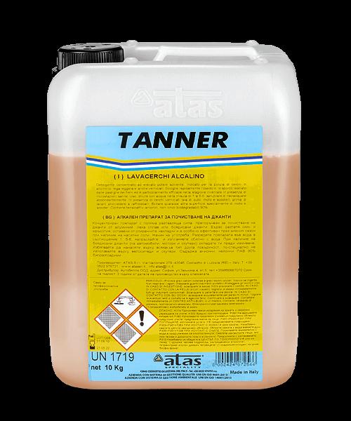 Алкален препарат за почистване на джанти TANNER 10 kg.