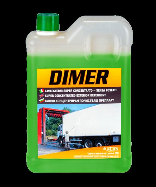 Силно концентриран почистващ обезмаслител Atas DIMER, 2 kg.