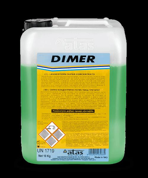 Силно концентриран почистващ обезмаслител DIMER 10 kg.