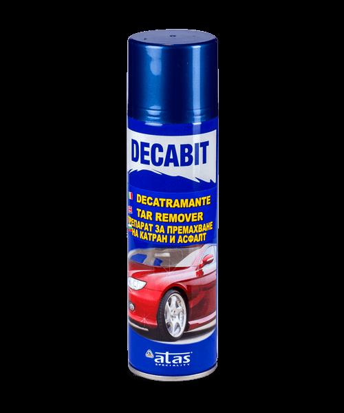 Спрей Atas DECABIT за премахване на катран и асфалт, 250 ml.