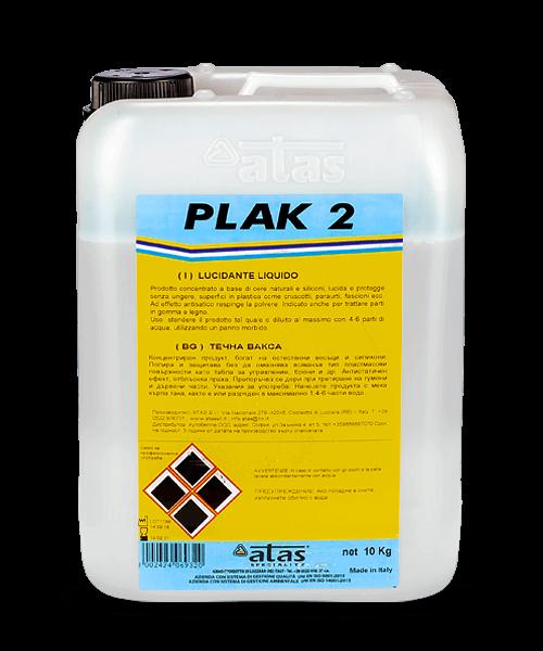 Течна вакса за пластмаса, дърво, гума и мрамор PLAK 2 5 kg./10 kg.
