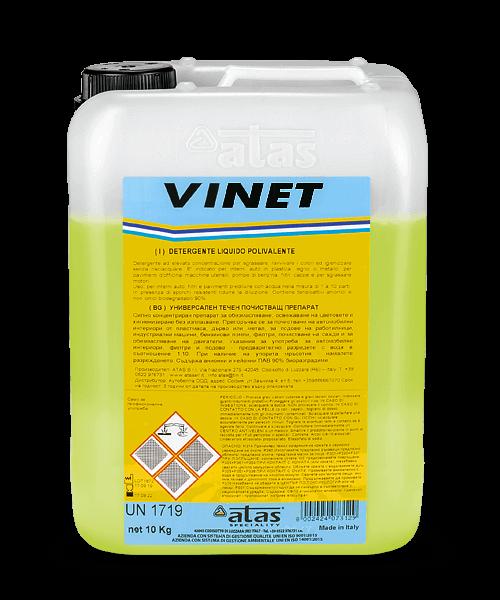 Универсален течен почистващ препарат VINET 10 kg.