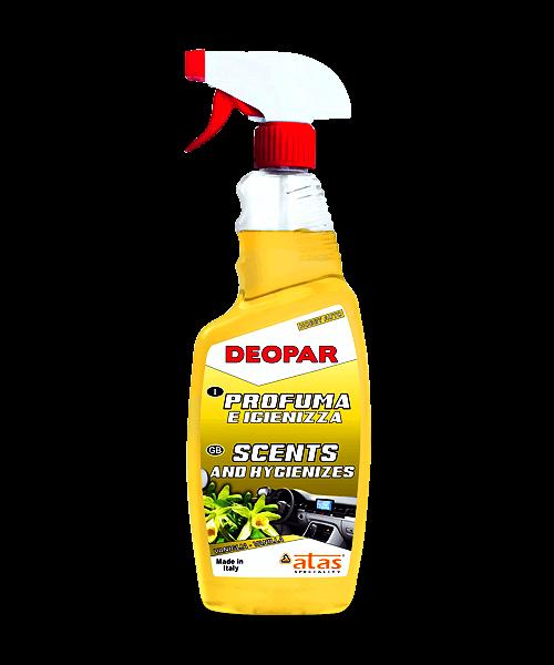 Хигиенизиращ освежител за въздух Atas DEOPAR, ванилия, 750ml.