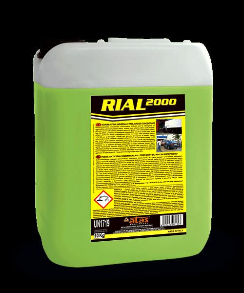 Концентриран препарат за предизмиване Atas Rial 2000, универсална активна пяна, 10 kg.